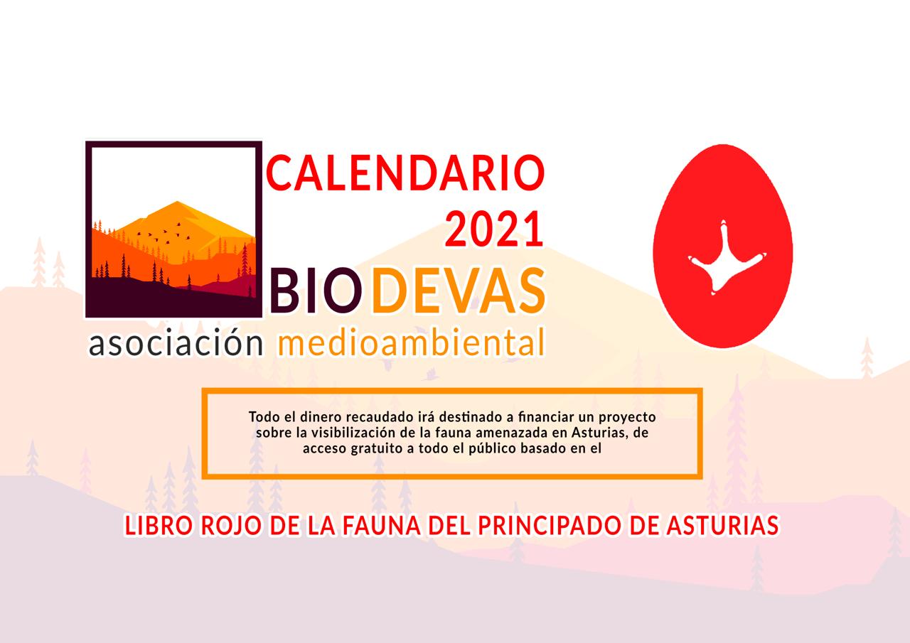 Calendario Biodevas 2021 Portada