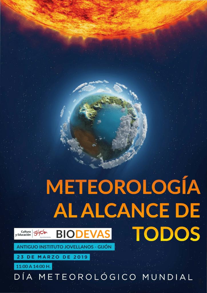 Cartel Dia de la meteorologia