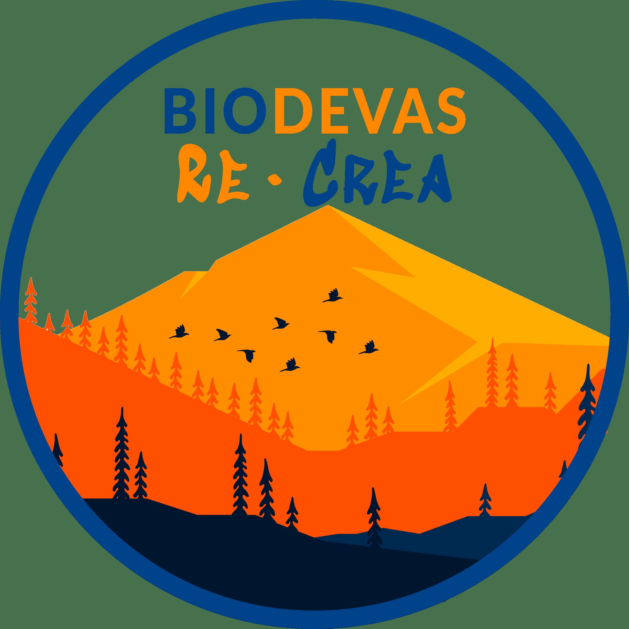 LogoBiodevas2021 circulo azul recrea 1