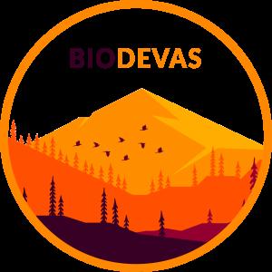LogoBiodevas2021 circulo naranja