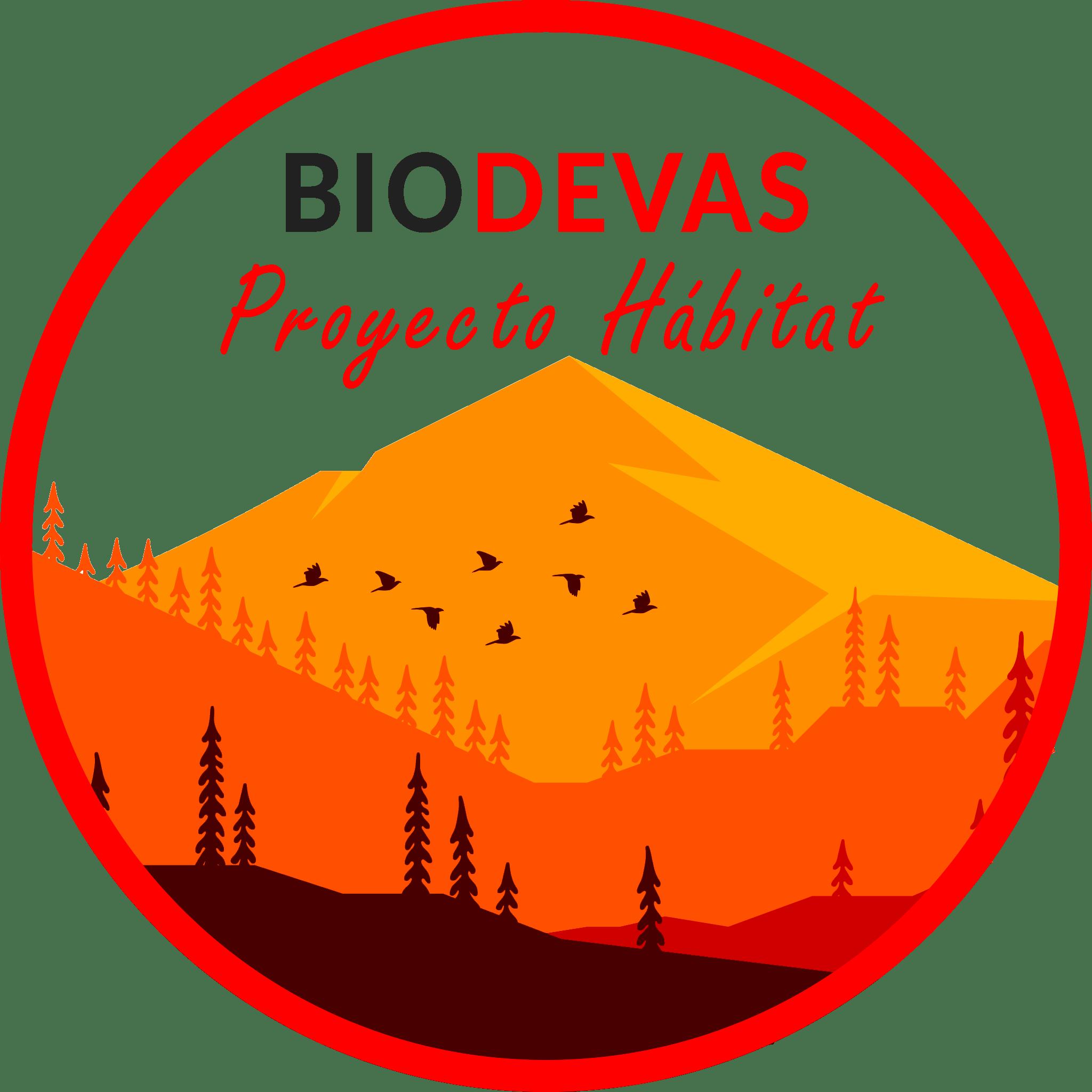 LogoBiodevas2021 circulo rojo habitat